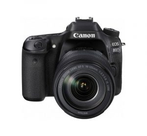 CANON - Digital EOS 80D Lens EF-S18-135 IS USM WiFi