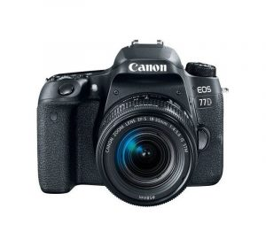 CANON - EOS 77D DSLR Camera 18-55mm Lens