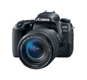 CANON - EOS 77D DSLR Camera 18-135mm USM Lens