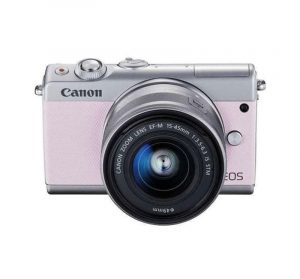 CANON - EOS M100 Pink EF-M15-45mm