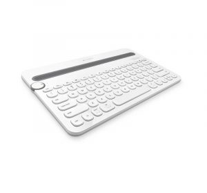 LOGITECH - K480 MultiDevice Keyboard White