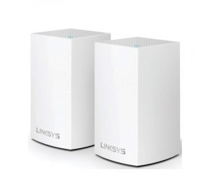 LINKSYS - AC4400 TRI BAND, MU-MIMO, VELOP 2 PACK MESH NETWORK [WHW0302-AH]